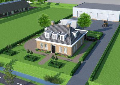 Aan de Bredeweg – Waddinxveen: 18 business units en twee woningen